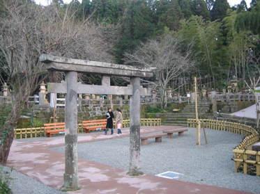 島津家の墓地